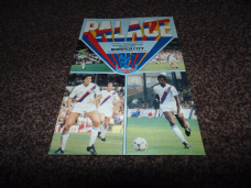 Crystal Palace v Norwich City, 1981/82